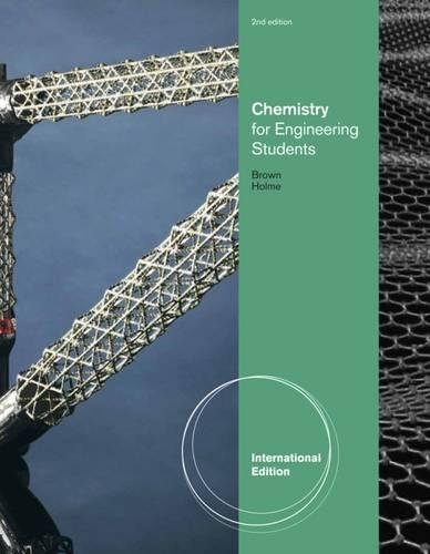 9780538733649: Chemistry for Engineering Students