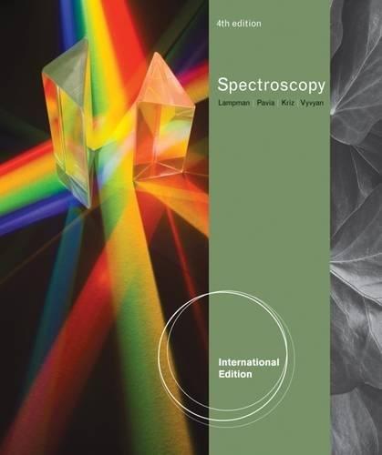 9780538734189: Introduction to Spectroscopy, International Edition