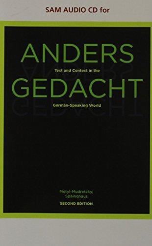 9780538734240: Anders Gedacht