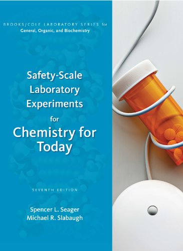 9780538734547: Safety-Scale Laboratory Experiments for Chemistry for Today (Brooks/ Cole Laboratory Series for General, Organic, and Biochemistry)