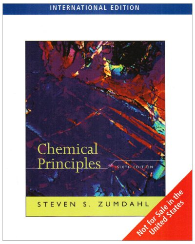 9780538734561: Chemical Principles