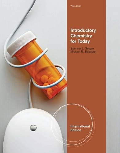 9780538734868: Introductory Chemistry for Today, International Edition
