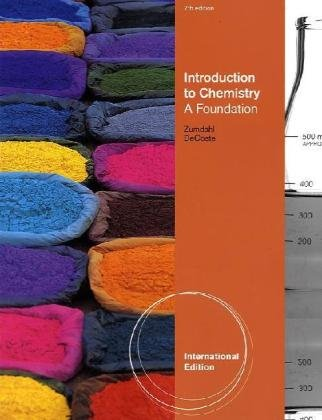 9780538735438: Introduction to Chemistry: A Foundation