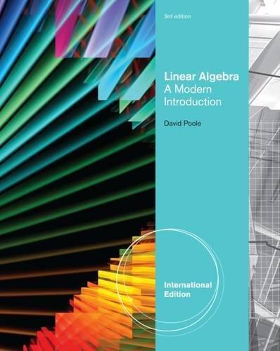 9780538735445: Linear Algebra A Modern Introduction
