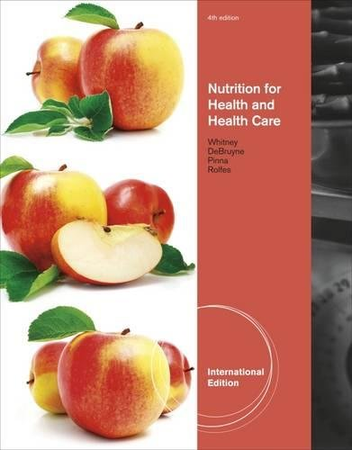 9780538735544: Nutrition for Health and Health Care, International Edition