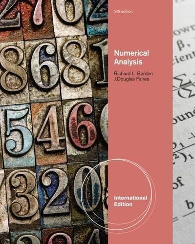 9780538735643: Numerical Analysis 9Th Edition