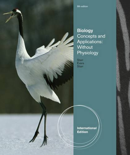 9780538736183: Biology Concepts and Applications: Without Physiology International Edition