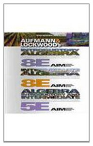 9780538736312: Text-Specific DVD for Aufmann/Lockwood's Algebra: Introductory and Intermediate: An Applied Approach, 5th