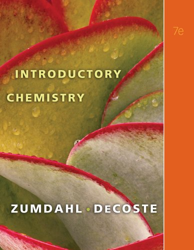 9780538736398: Introductory Chemistry