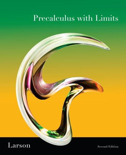 9780538736596: Precalculus W/ Limits Pre-AP National Se