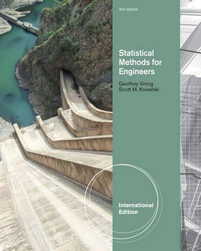 9780538737234: Statistical Methods for Engineers