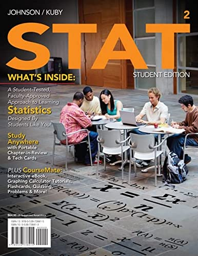 9780538738415: STAT2 (with Review Cards and CourseMate Printed Access Card) (Available Titles Aplia)