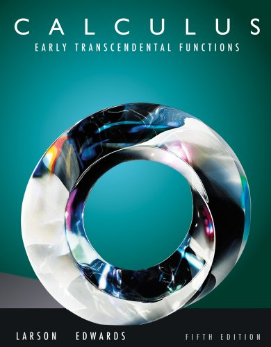 9780538739207: Student Solutions Manual, Vol. 1: Calculus - Early Transcendental Functions