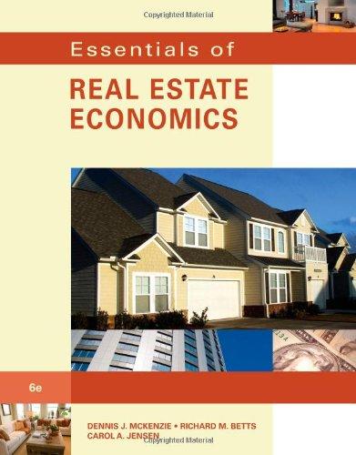 9780538739696: Essentials of Real Estate Economics