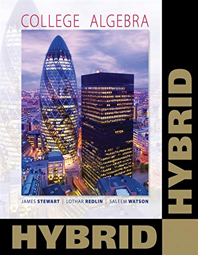 College Algebra, Hybrid (with Enhanced WebAssign with: James Stewart, Lothar