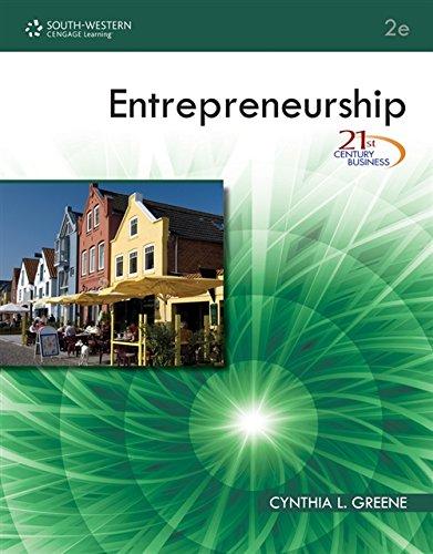 9780538740630: 21st Century Business Series: Entrepreneurship (Middle School Solutions)