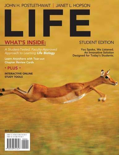 9780538741347: LIFE (with Biology CourseMate with eBook Printed Access Card) (Available Titles CourseMate)