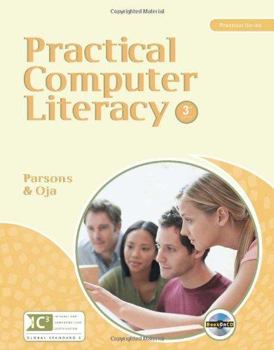 Practical Computer Literacy (New Perspectives Practical Series): Parsons, June Jamrich; Oja, Dan
