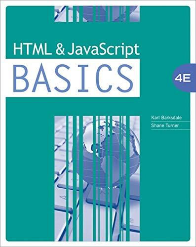 9780538742351: HTML and JavaScript BASICS