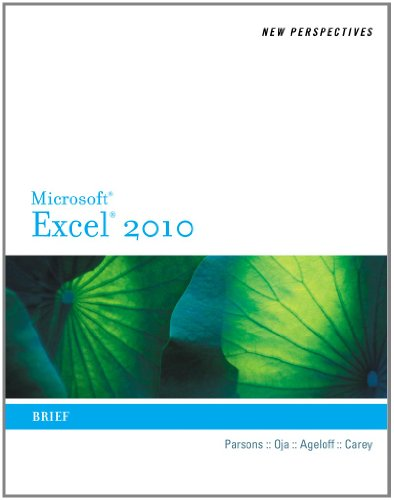 9780538742924: New Perspectives on Microsoft Excel 2010: Brief (Available Titles Skills Assessment Manager (SAM) - Office 2010)