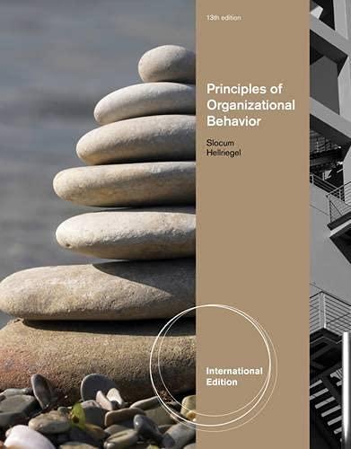 9780538743341: Principles of Organizational Behavior