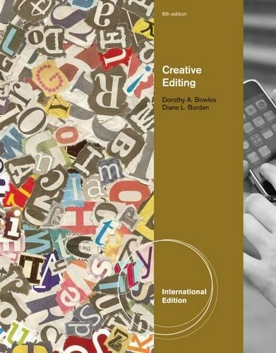 9780538743709: Creative Editing