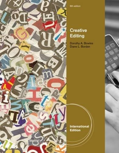 9780538743709: Creative Editing, International Edition