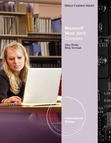 9780538743860: ISE Microsoft Office Word 2010 Complete