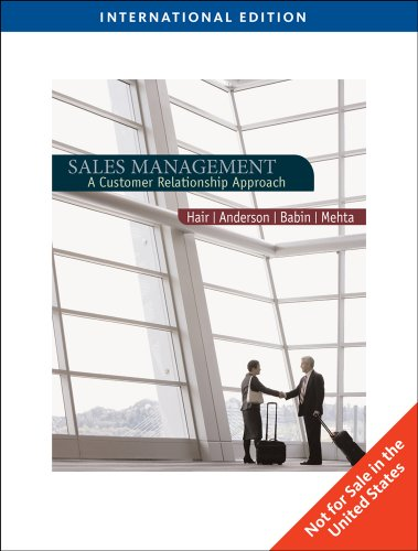 9780538743921: Sales Management