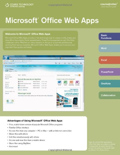 9780538744249: Microsoft Office Web Apps