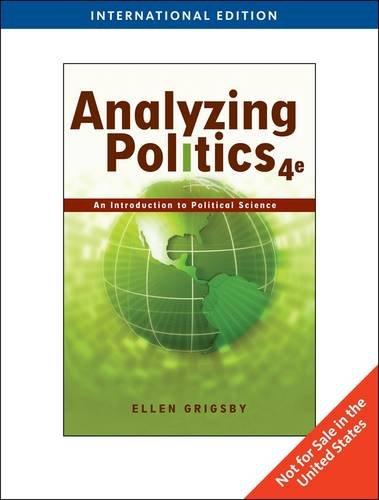9780538744461: Analyzing Politics