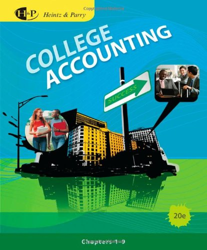 9780538745222: College Accounting, Chapters 1-9 (Available Titles CengageNOW)