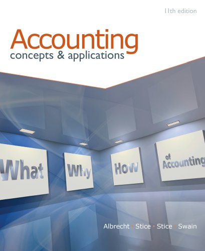 9780538745482: Accounting: Concepts and Applications