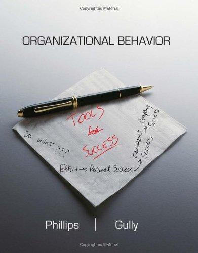 9780538745765: Organizational Behavior: Tools for Success