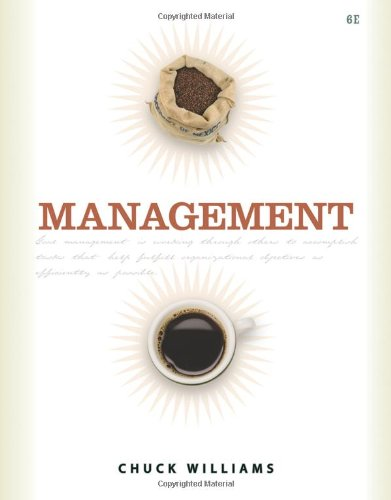 Management (0538745975) by Williams, Chuck