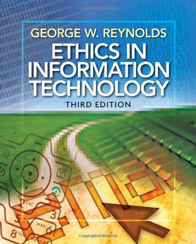 9780538746229: Ethics in Information Technology