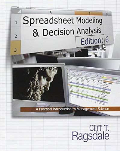9780538746311: Spreadsheet Modeling & Decision Analysis: A Practical Introduction to Management Science