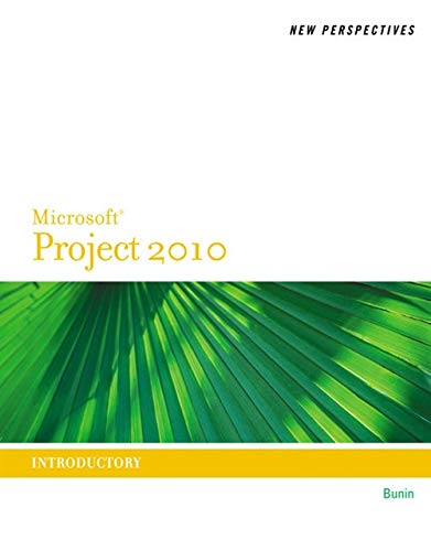 9780538746762: New Perspectives on Microsoft Project 2010: Introductory (New Perspectives Series)