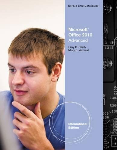 9780538747066: Microsoft Office 14. Advanced