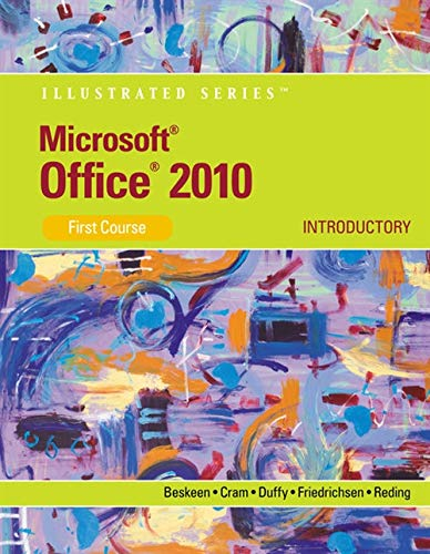 9780538747158: Microsoft Office 2010: Illustrated Introductory, First Course (Available Titles Skills Assessment Manager (SAM) - Office 2010)