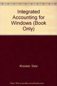 9780538747981: Integrated Accounting for Windows (Book Only)