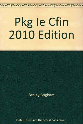 9780538748049: Pkg Ie Cfin 2010 Edition