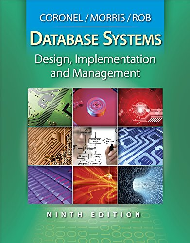 9780538748841: Database Systems: Design, Implementation and Management (Book Only)