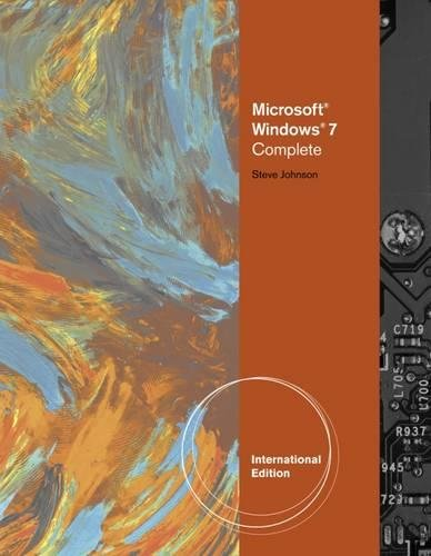 9780538749084: Microsoft Windows 7: Illustrated Complete, International Edition