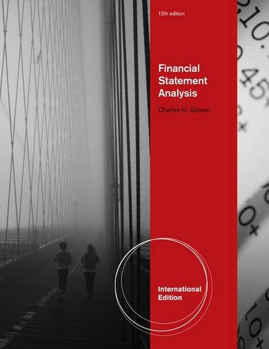9780538749572: Financial Statement Analysis