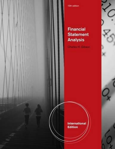 9780538749572: Financial Statement Analysis