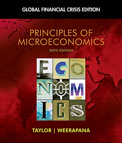 Microeconomics, Financial Crisis Updated Edition (Book Only): John B. Taylor,