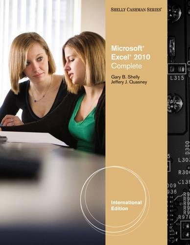 9780538750042: Microsoft Office Excel 2010: Complete. by Gary Shelly and Jeffrey J. Quasney
