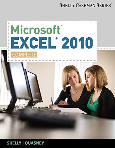 9780538750059: Microsoft Excel 2010: Complete (SAM 2010 Compatible Products)
