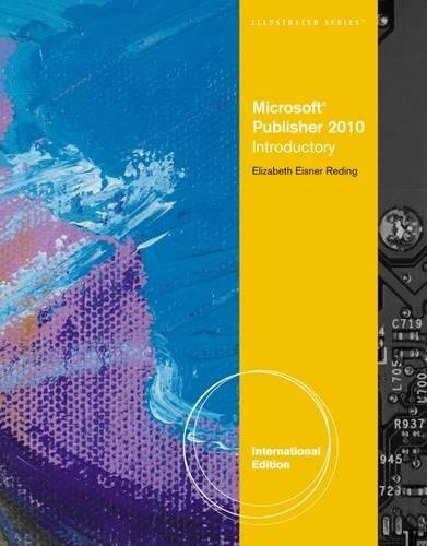 9780538750134: Microsoft® Publisher 2010: Illustrated, International Edition